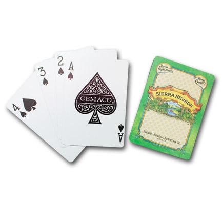 Sierra Nevada Playing Cards Deck