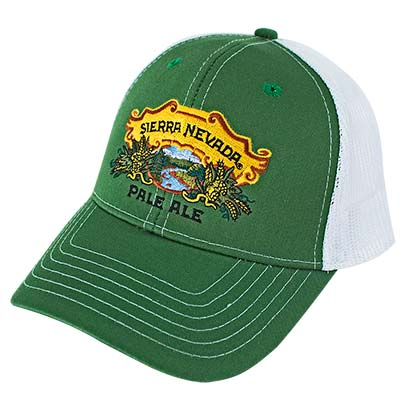 Sierra Nevada Green Trucker Hat