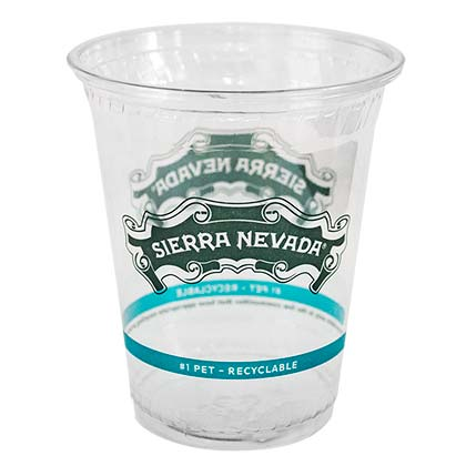 Sierra Nevada 50 Pack Plastic 14 Ounce Cups