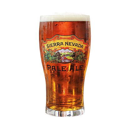 Sierra Nevada Pale Ale Tulip Pint Glass