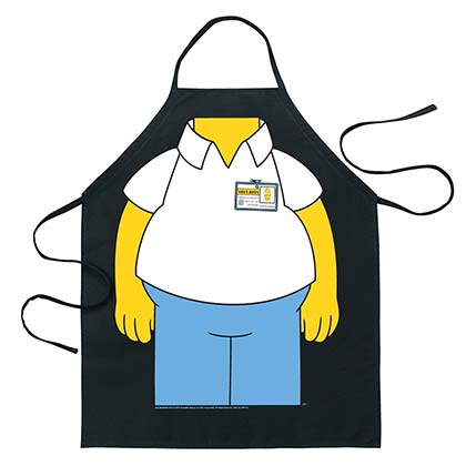 The Simpsons Adult Homer Cooking Apron