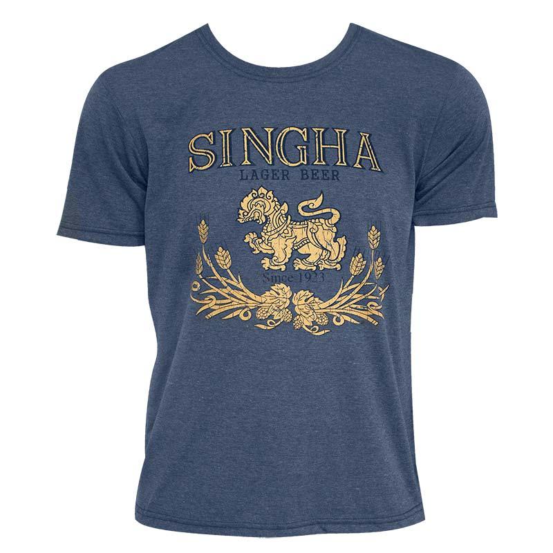 Singha Beer Logo Tee Shirt
