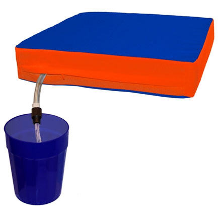 Sippin Seat (FREE SHIPPING) - Orange & Blue