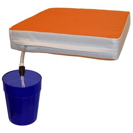 Sippin Seat (FREE SHIPPING) - Orange & White