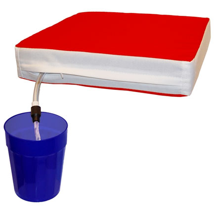 Sippin Seat (FREE SHIPPING) - Red & White