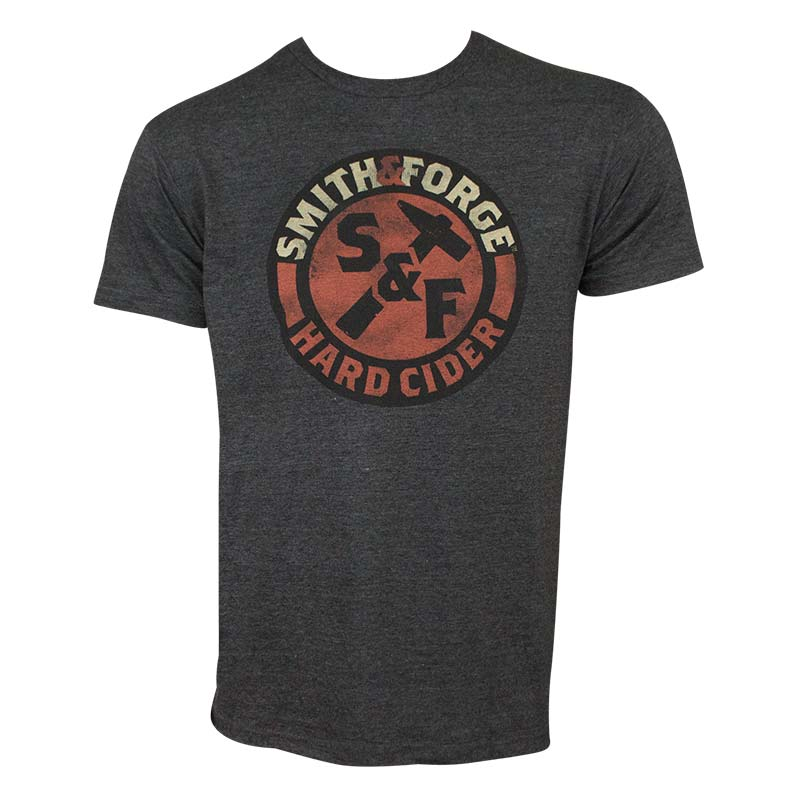Smith & Forge Men's Gray Hard Cider T-Shirt
