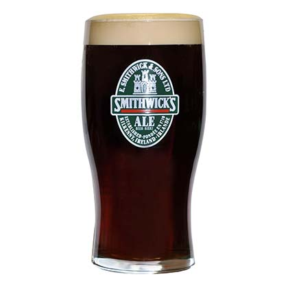 Smithwick's Large Pint Glass