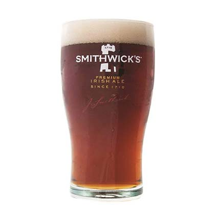 Smithwick's Premium Irish Ale 16oz Tulip Beer Pint Glass