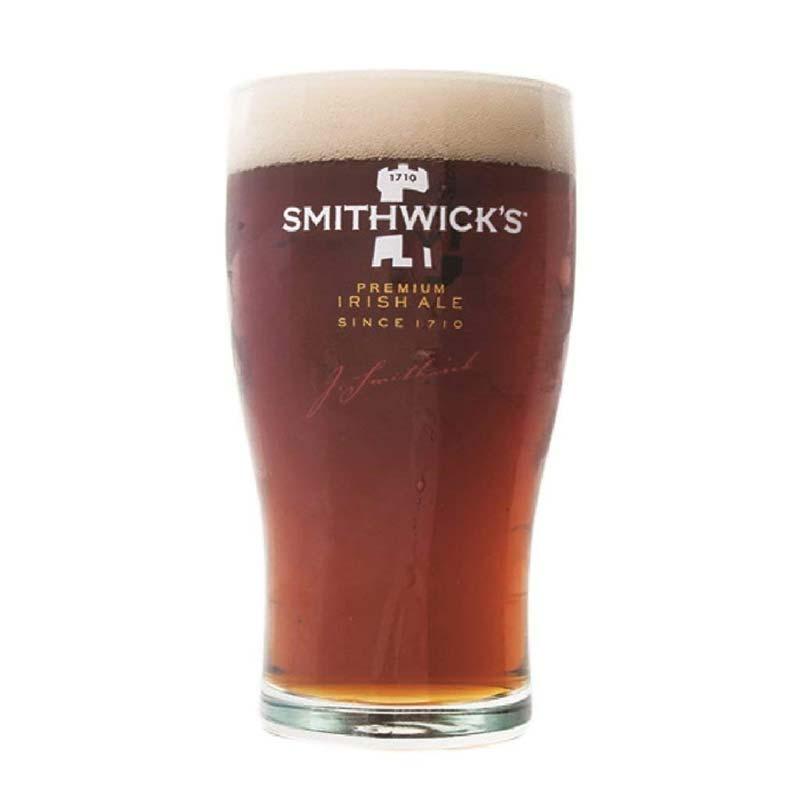Smithwick's Premium Irish Ale 16oz Tulip Beer Glass