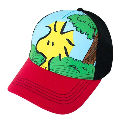 Snoopy Woodstock Full Color Children's Hat