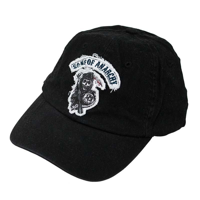 Sons Of Anarchy Black Reaper Logo Hat