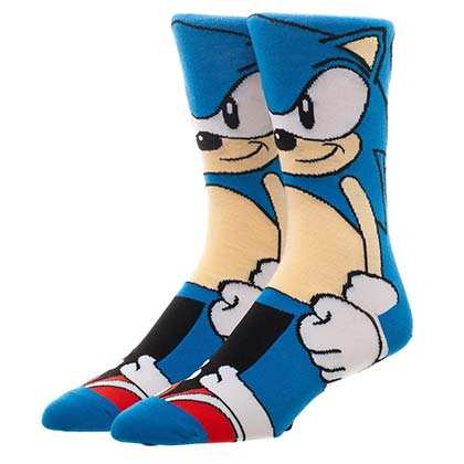 Sonic The Hedgehog 360 Men's Crew Socks