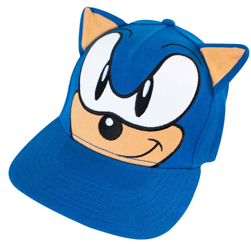 Sonic The Hedgehog Blue Iu0027m Outta Here Hat ...  sc 1 st  SuperheroDen.com & Sonic The Hedgehog Costume Hat | SuperheroDen.com