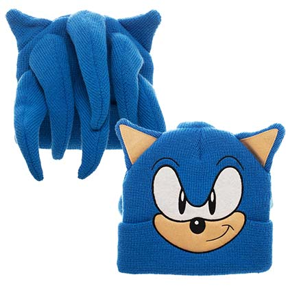 Sonic Cosplay Winter Beanie