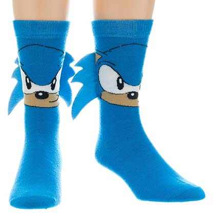 Sonic Blue Men's Quilled Socks