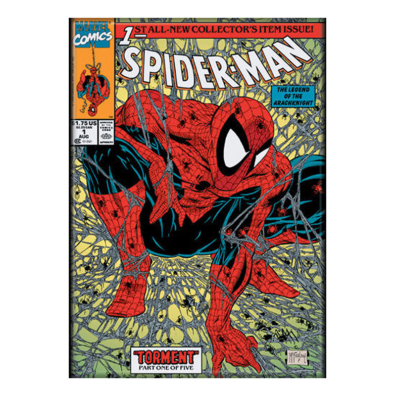 Spiderman Superhero Comic Cover Magnet