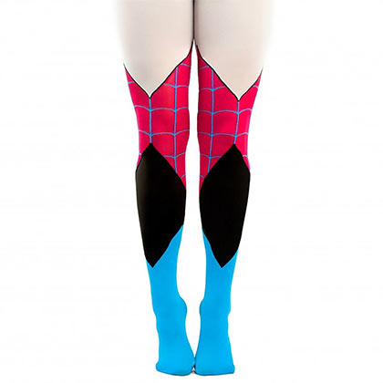 Marvel Spider Gwen Women's Costume Tights