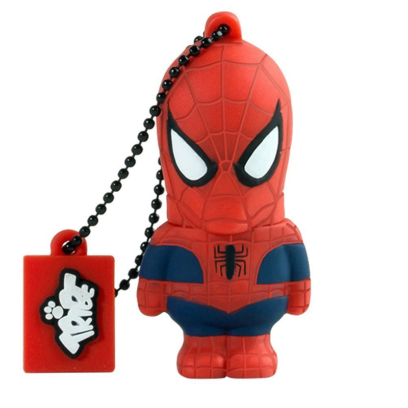 Spiderman Red Superhero USB Flash Drive