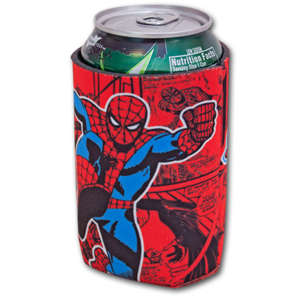 Spiderman Picture Koozie