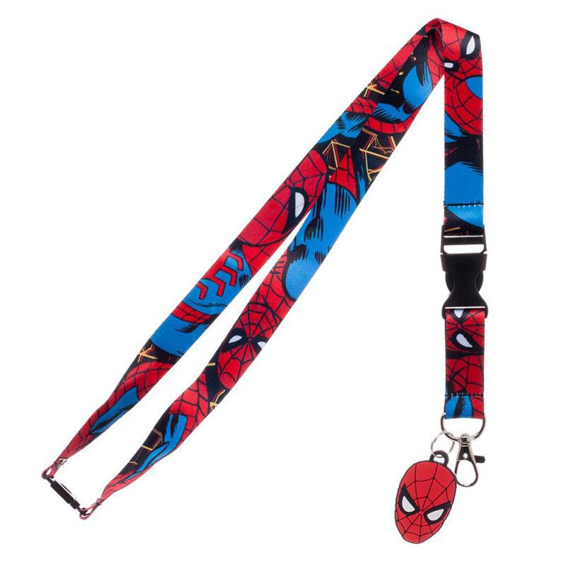 Spiderman Keychain Lanyard
