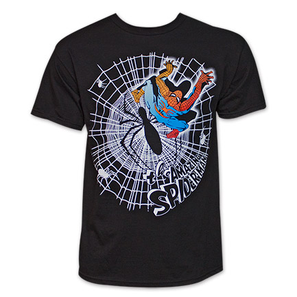 Spider-Man Webner TShirt - Black