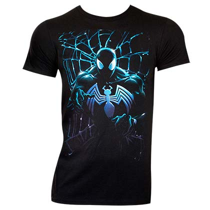 Spiderman Men's Black Venom T-Shirt