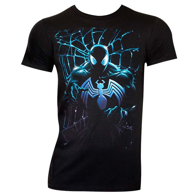 Spiderman Men's Black Venom T-Shirt