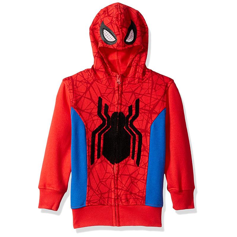 Spiderman Big Boys Costume Hoodie