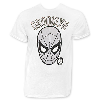 Spiderman Brooklyn White T-Shirt