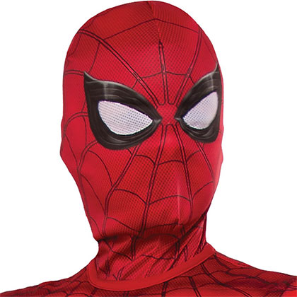 Spiderman Youth Red Costume Mask