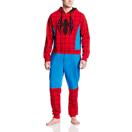 Spider-Man Men's Adult Costume Jump Suit