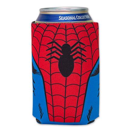 Spider-Man Costume Can Koozie