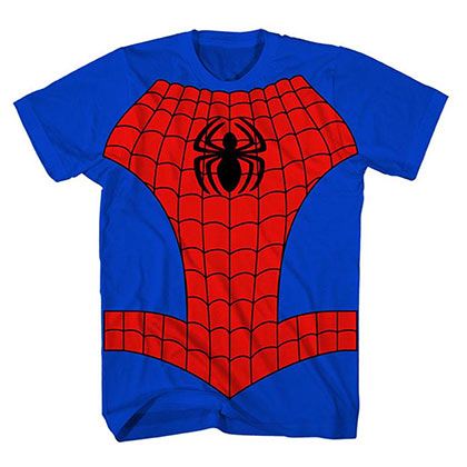 Spiderman Boys Costume T-Shirt