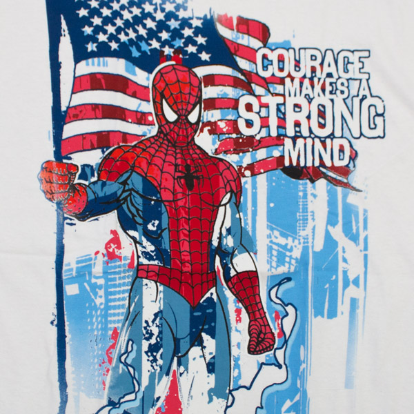 Spiderman Strong-Minded T-Shirt - White