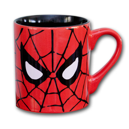 Spiderman Mug Face Picture