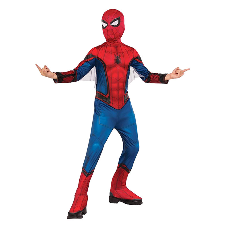 Spiderman Youth Masked Costume
