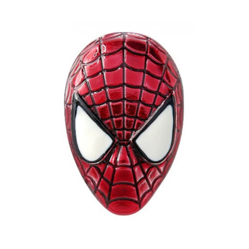 spiderman logo lapel pin superherodencom