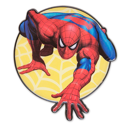 Spider-Man 3-1/2 Inch Enamel Belt Buckle