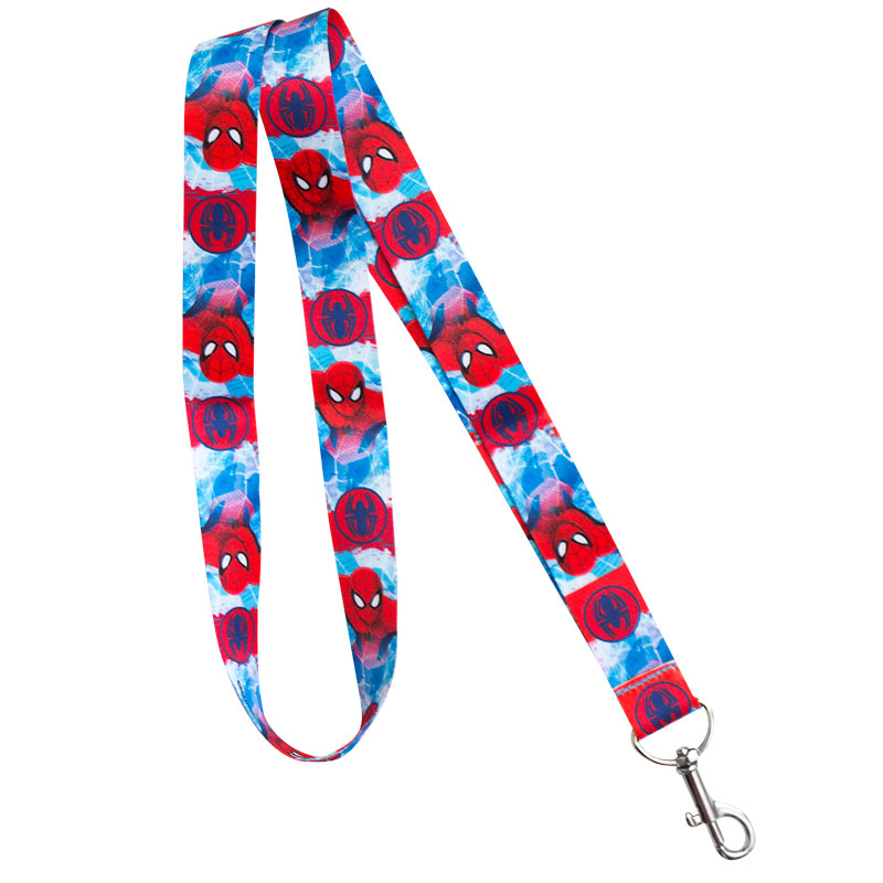 Spiderman Superhero Lanyard