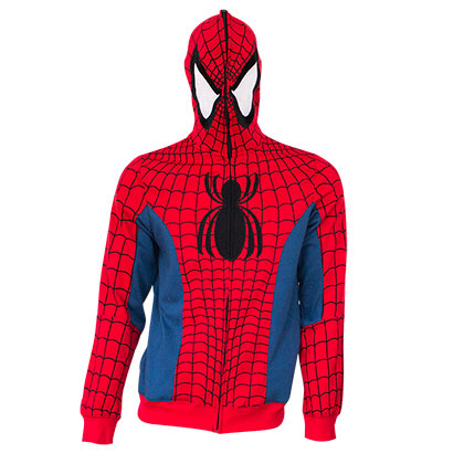 Spiderman Sublimated Costume Hoodie