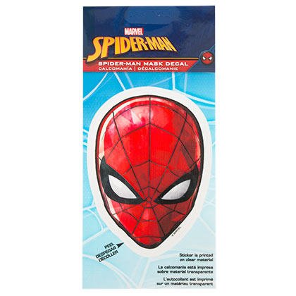 Spider-Man Mask 4.5 Inch Sticker Decal