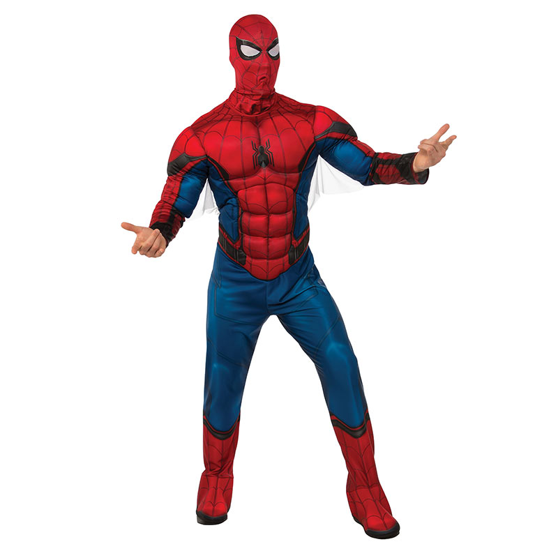 Spiderman Adult Masked Costume
