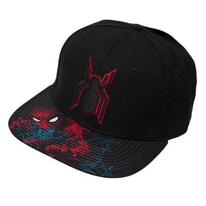 Spiderman Homecoming Black Snapback Hat