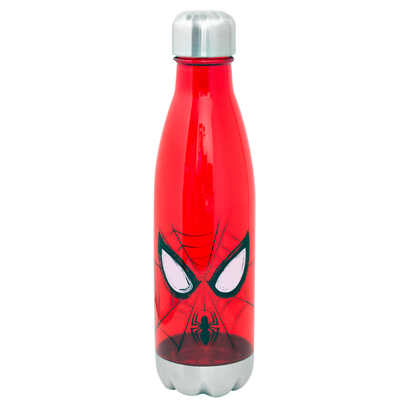 Spiderman Plastic 20 Oz Travel Water Bottle