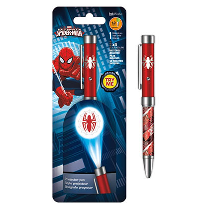 Spider-Man Projector Ballpoint Pen