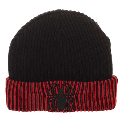 Spiderman Reversible Embroidered Logo Winter Beanie