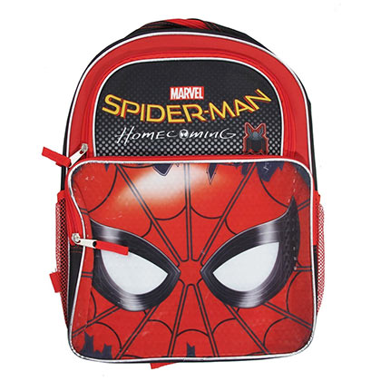 Spiderman Reflective Youth Homecoming Backpack