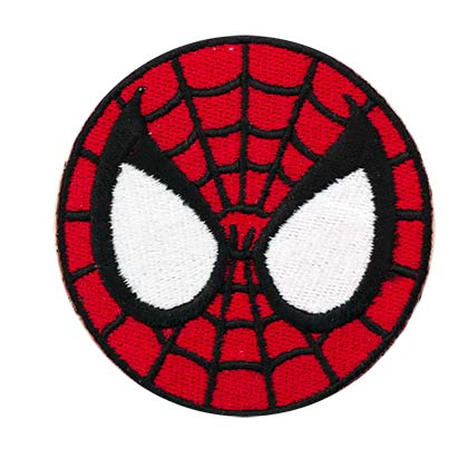 Spiderman Comic Mask Patch