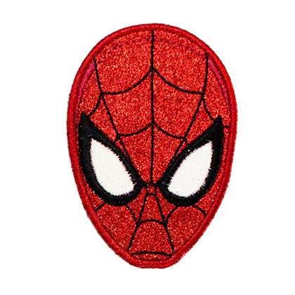 Spiderman Glitter Patch