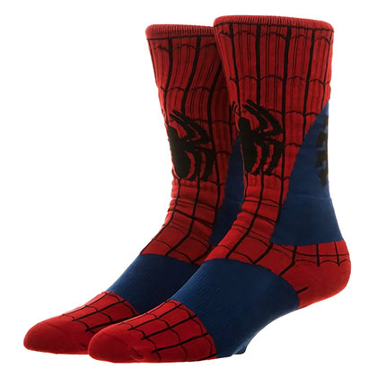 Spiderman Costume Crew Socks